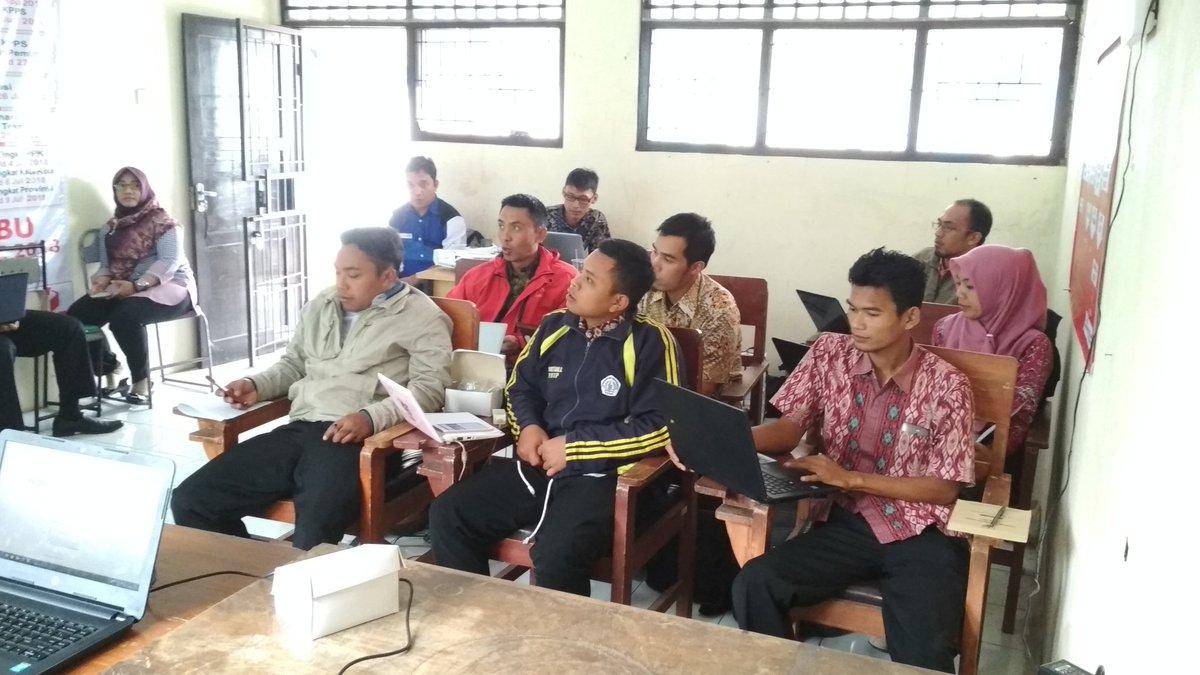 suasana pelatihan pengelolaan website desa